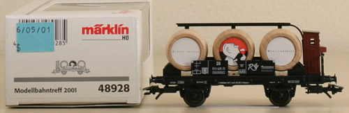 Consignment 48928 - MARKLIN 48928 Wine Barrel Car for Württemberg Wine