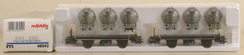 Consignment 48942 - Marklin 48942 Car set with Chemical Containers Von Haus