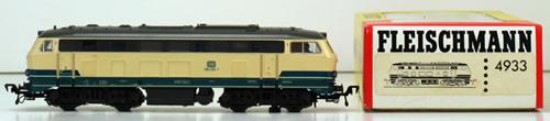 Consignment 4933 - Fleischmann 4933 Track Cleaning Diesel Locomotive of the DB