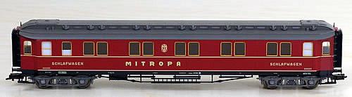 Consignment 5078 - Fleischmann 5078 Mitropa Sleeper Coach