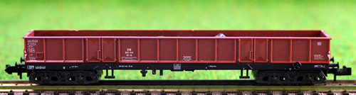 Consignment 51350500 - MiniTrix 51350500 four Axle Gondola with rock load