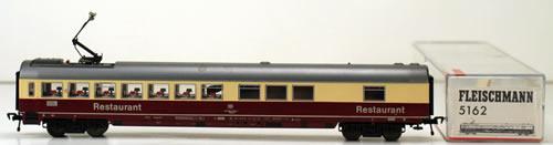 Consignment 5162 - Fleischmann 5162 Restaurant Car of the DB