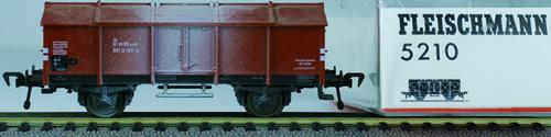 Consignment 5210 - Fleischmann 5210 Goods Wagon of the DRG
