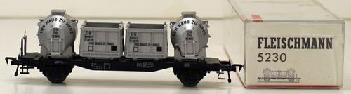 Consignment 5230 - Fleischmann 5230 Von Haus Container Wagon of the DB