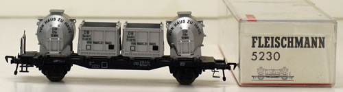 Consignment 5230 - Fleischmann 5230 Von Haus Container Wagon of the DB
