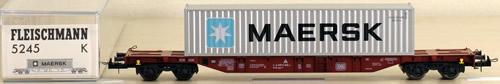 Consignment 5245 - Fleischmann 5245 DB Container Car Maersk