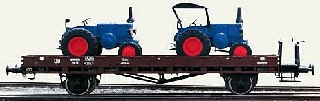 Consignment 58494 - Marklin 58494 2002 INSIDER FLAT CAR W/LOAD