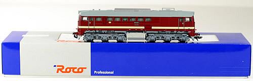 Consignment 63393 - Roco Diesel Locomotive BR 120 Taiga Drum