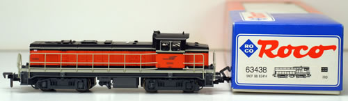 Consignment 63438 - Roco 63438 Diesel Locomotive BB 63000 of the SNCF