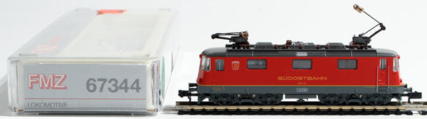 Consignment 67344 - Fleischmann 67344 Swiss Electric Locomotive Re 4/4 of the SOB