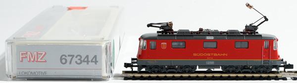 Consignment 67344 - Fleischmann 67344 Swiss Electric Locomotive Re 4/4 of the SOB
