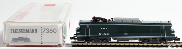 Consignment 7360 - Fleischmann 7360 French Electric Locomotive BB 15001 of the SNCF
