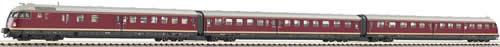 Consignment 741202 - Fleischmann 741202 Diesel Rail Train VT 12.5