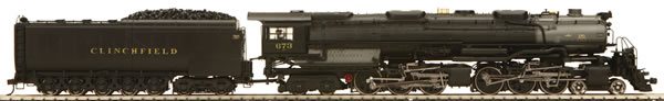 Consignment 80-3157-1 - MTH USA Steam Locomotive 4-6-6-4 Challenger of the Clinchfield Railroad