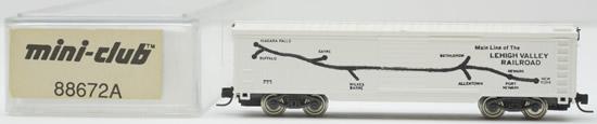 Consignment 88672A - Marklin 88672A - Box Car of the Lehigh Valley