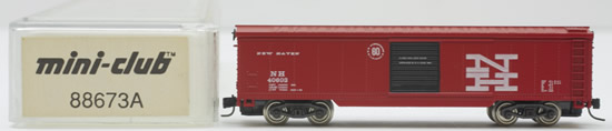 Consignment 88673A - Marklin  88673A- Box Car of the New Haven