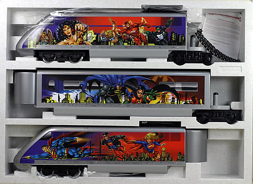 Consignment 92950 - LGB 92950 DC Comics ICE Set Limited Edition