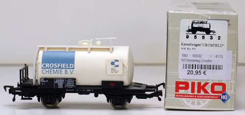 Consignment 95532 - Piko 95532 2-Axle Tank Car Crosfield Chem of the NS