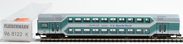 Consignment 968122 - Fleischmann 968122 2nd Class Double Decker Passenger Coach