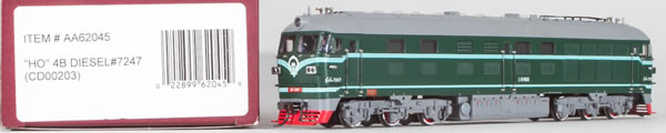 Consignment AA62045 - Bachmann 62045 China Diesel Locomotive DF4B #7247 (CD00203)