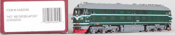Consignment AA62045 - Bachmann 62045 China Diesel Locomotive DF4B #7247 (CD00203)