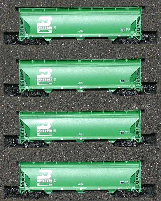 Consignment AZL90302-1 - AZL 90302-1 - 4pc Bay Hopper Car Set of the BN