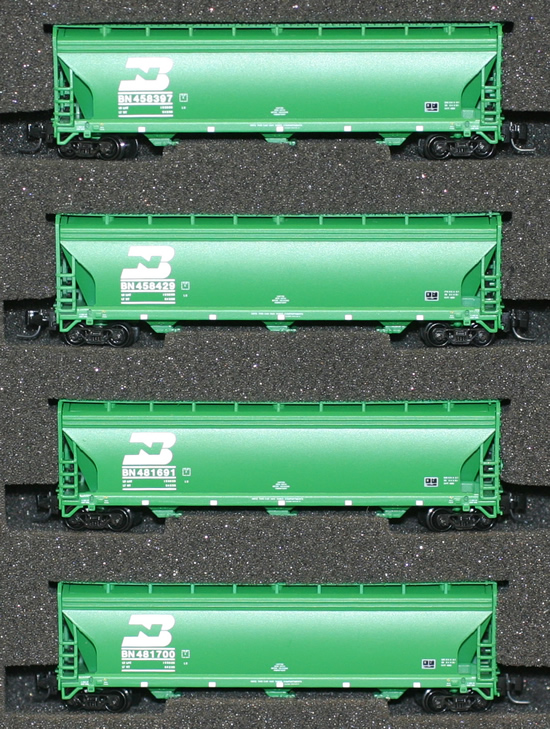 Consignment AZL90302-2 - AZL 90302-2 - 4pc Bay Hopper Car Set of the BN