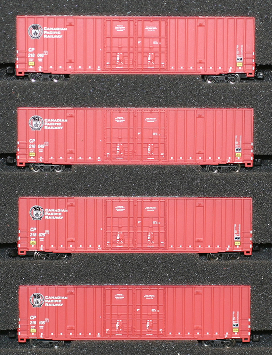 Consignment AZL90402-1 - AZL 90402-1 - 4pc 60 Gunderson Box Car Set of the CP