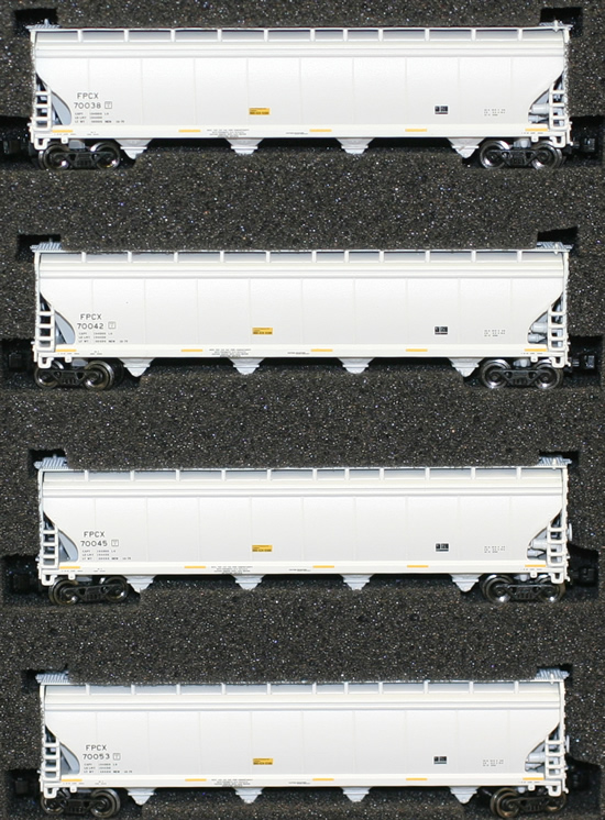 Consignment AZL90701-1 - AZL 90701-1 - 4pc Bay Hopper Car Set of the FPCX