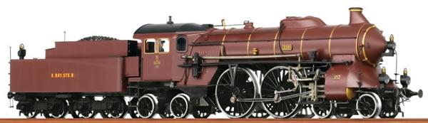 Consignment B40264 - Brawa 40264 German Steam Locomotive S 2/6 Pfalzb (DCC Sound Decoder)
