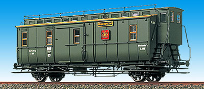 Consignment BR2130 - Brawa 2130 Wurttemberg Post Car