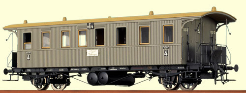 Consignment BR2164 - Brawa 2164 KwStE Carriages