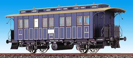 Consignment BR45602 - Brawa 45602 Sleeping Car of the KWStE