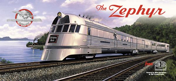 Consignment CC1-8721 - Con-Cor 1-8721 Pioneer Zephyr Set