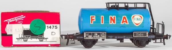 Consignment FL1475 - Fleischmann 1475 FINA Kesselwagen
