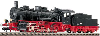 Consignment FL4152 - Fleischmann 4152 - Tender loco of the DR, class 55.25-56 with tender 3T16,5 (pr)