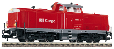 Consignment FL4215 - Fleischmann 4215 - Diesel loco of the DB AG (DB-Cargo) in traffic red livery, class 212