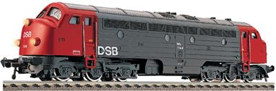 Consignment FL4273 - Fleischmann 4273 - Diesel Locomotive of the DSB