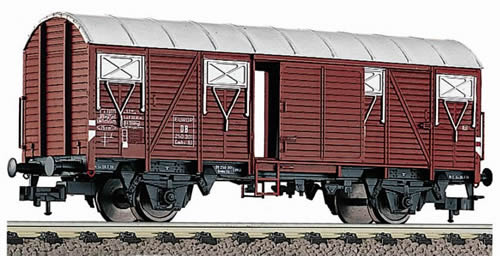 Consignment FL5310 - Box goods wagon, type Gmhs 53 of the DB