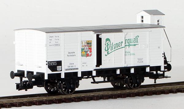 Consignment FL5357 - Fleischmann 5357 Beer Wagon Pilsner Urquell with Brakemans Cab