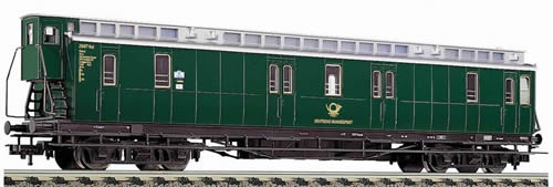 Consignment FL5688 - 4-axled, post coach with brakemans cab, type Post 4 (Post4-b/17) of the Deutsche Bundespost