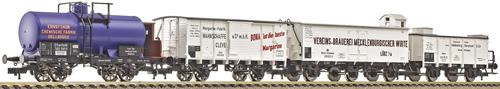 Consignment FL581008 - Fleischmann 581008 4 Piece Freight Car Set