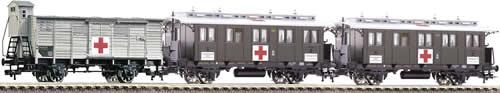Consignment FL581206 - Fleischmann 581206 - 3pc wagon military hospital set
