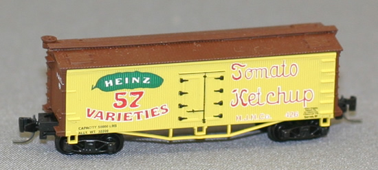 Consignment FN5001 - Father Nature 5001 - Billboard Reefer Car Ketchup
