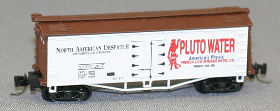 Consignment FN5005 - Father Nature 5005 - Billboard Reefer Car Pluto Water