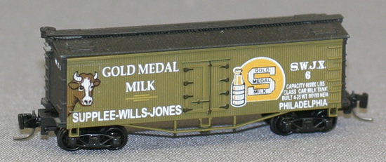 Consignment FN5006 - Father Nature 5006 - Billboard Reefer Car Gold Medal