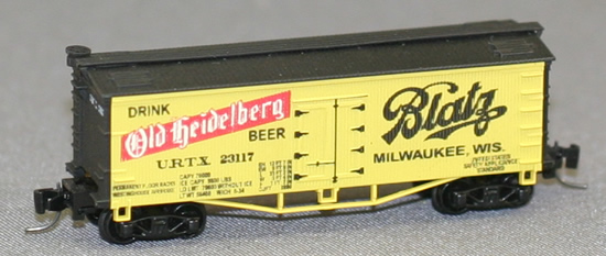 Consignment FN5007 - Father Nature 5007 - Billboard Reefer Car Old Heidelberg