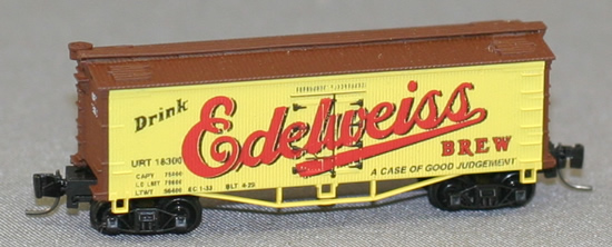 Consignment FN5008 - Father Nature 5008 - Billboard Reefer Car Edelweiss