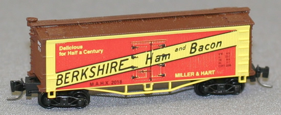 Consignment FN5010 - Father Nature 5010 - Billboard Reefer Car Berkshire
