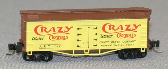 Consignment FN5011 - Father Nature 5011 - Billboard Reefer Car Crazy